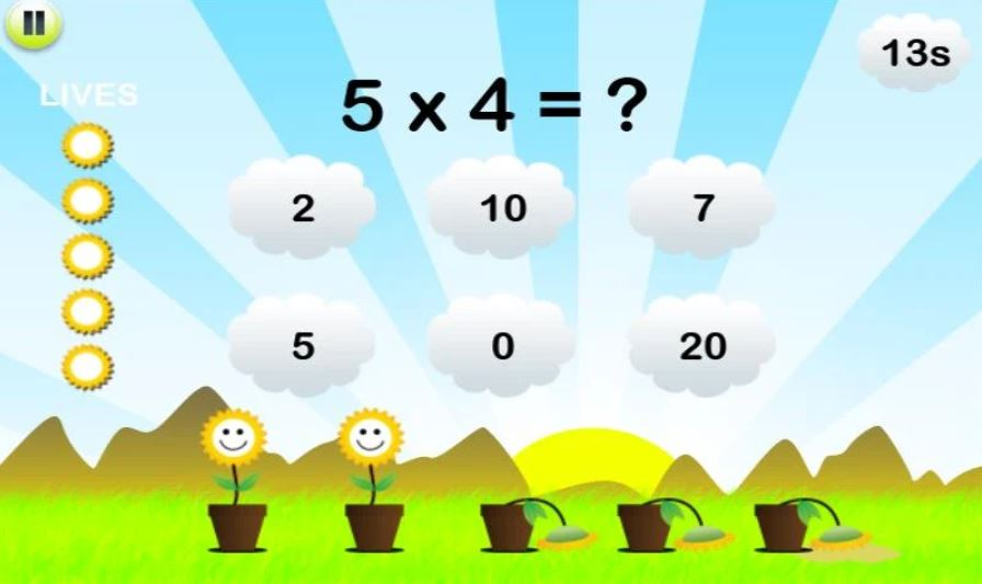 Math Training for Kids screen