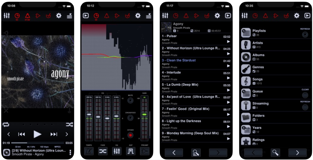 Neutron Music Player app screenshot