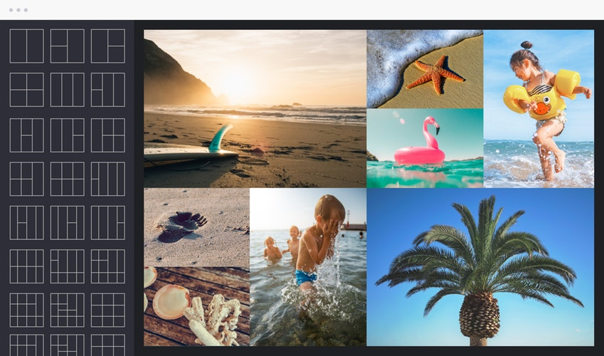 Photo Collage Creator screen