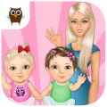 Download Sweet Baby Girl Twin Sisters App for Free