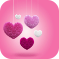 Download Pink Love Heart Launcher Theme App